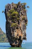 stock photo of james bond island  - The James Bond island - JPG