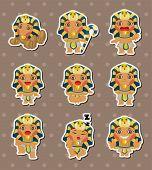 picture of king cobra  - Cartoon Pharaoh Stickers - JPG