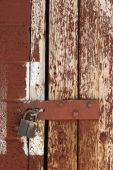 Old Padlocked Door
