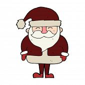 cartoon santa claus