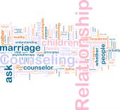 image of counseling  - Word cloud concept illustration of relationship counseling - JPG