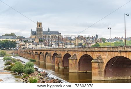View At The Nevers With Old Bridge
