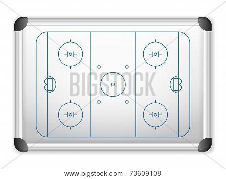 Whiteboard Hockey