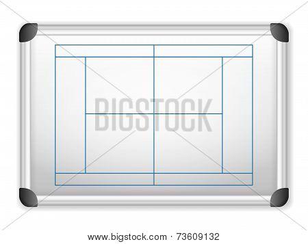 Whiteboard Tennis
