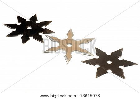 Three Shurikens