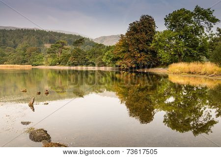 Coniston Water Reflections