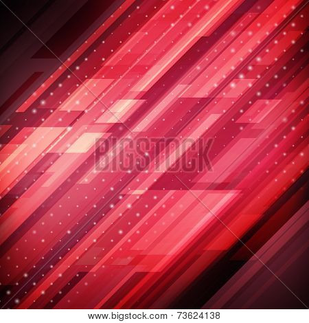 Abstract Technology Futuristic Lines Vector Background . Eps10