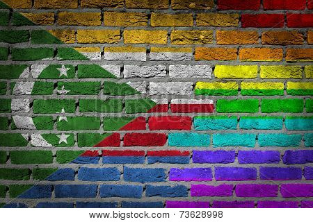 Dark Brick Wall - Lgbt Rights - Comoros