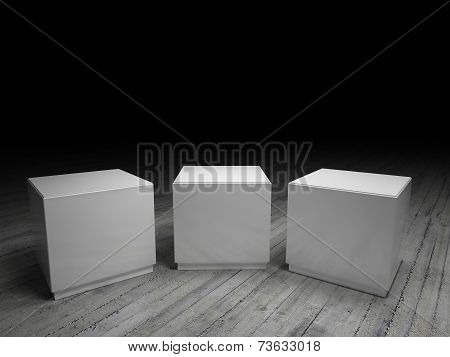Empty Podiums