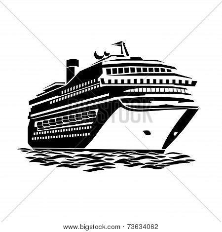 Big Cruise Liner