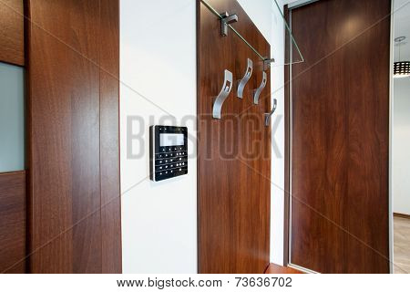 Coat Stand In Modern Apartment