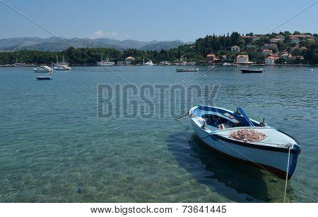 Fishing Boat Kolocep Island.