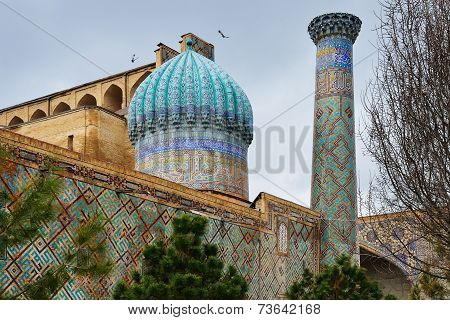 Registan Ensemble In Samarkand