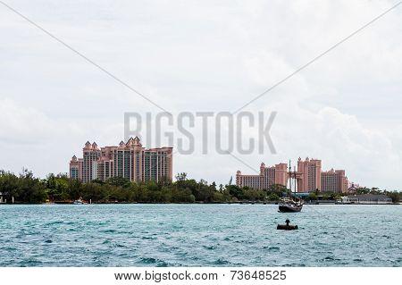 Pink Tropical Resorts Beyond Water