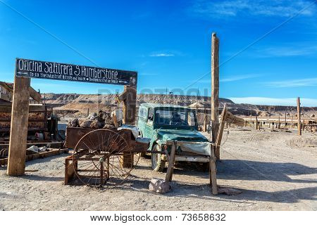 Entrance To Humberstone
