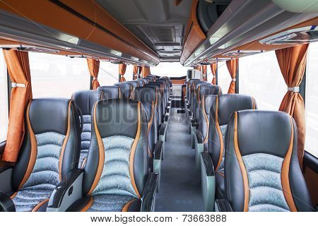 Seats Of Tourism Bus