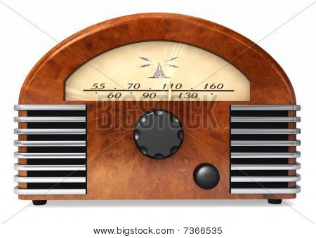 Stylish Radio From The Past