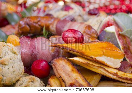 Christmas Dinner Garnish