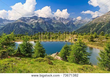 Doss Dei Gembri Lake In Pejo Valley