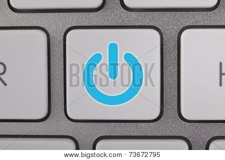 On Off key on the Keyboard