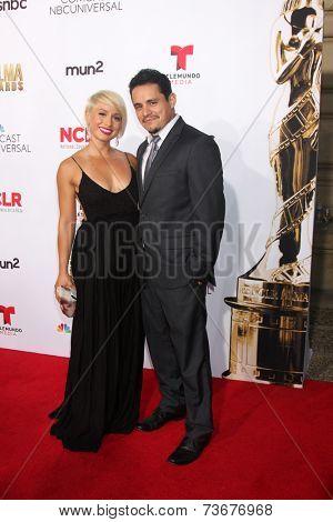 LOS ANGELES - OCT 10:  Jesse Garcia at the ALMA Awards Arrivals 2014 at Civic Auditorium on October 10, 2014 in Pasadena, CA