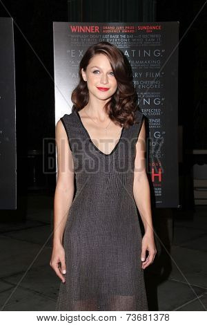 LOS ANGELES - OCT 6:  Melissa Benoist at the