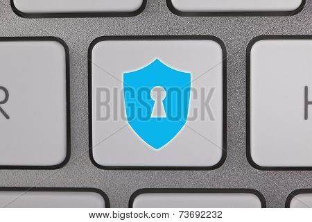Computer Security on Keyboard