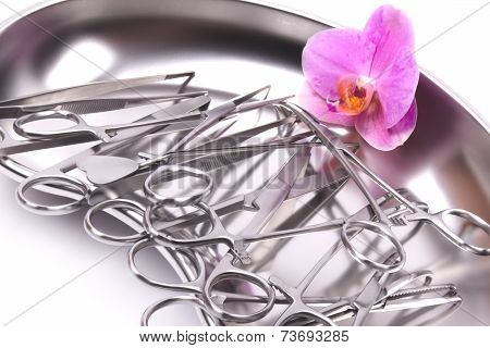 Orchid On Surgical Instruments
