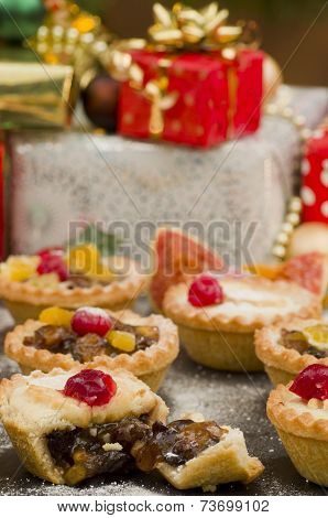 Christmas Mince Pies and Gifts