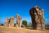 stock photo of stonehenge  - Stonehenge of Thailand  - JPG