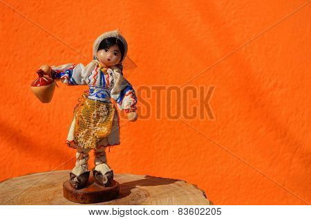 doll with jug