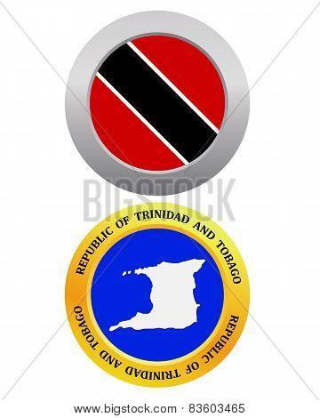 Button As A Symbol Republic Of Trinidad And Tobago