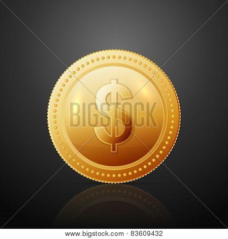 Coin dollar