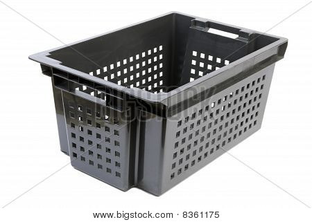 Black Container | Isolated