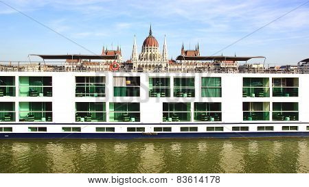 Scenic Crystal Ship. Budapest, Hungary