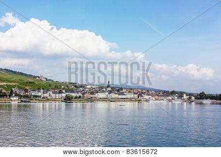 View Of Rudesheim, Germany