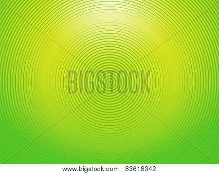 Abstract Light Yellow Green Background Made Of Semi Circles