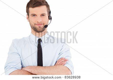 Male Operator.