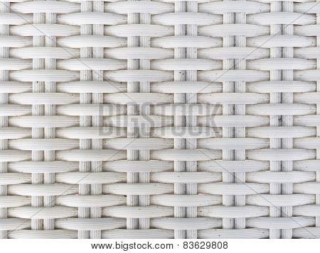White Plastic Weaving
