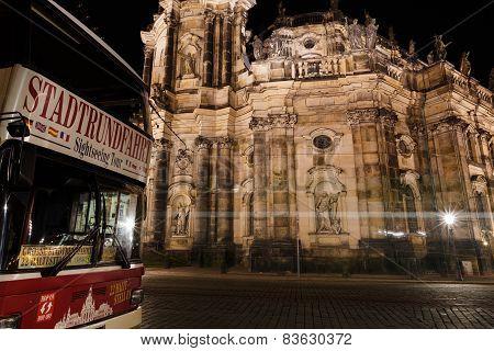 Hofkirche In Dresden