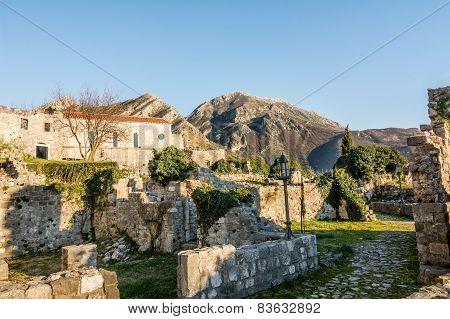 Old Town Of Bar, Montenegro