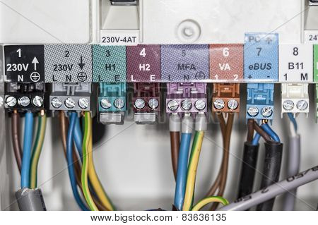 Cables Connected