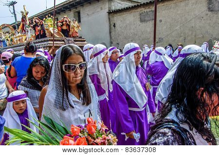 Palm Sunday Procession, Antigua, Guatemala