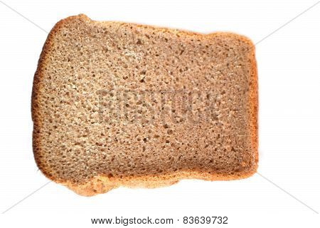 Brown Bread On White.