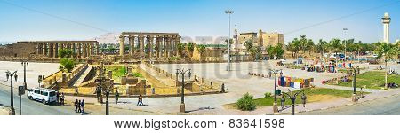 Panorama Of Luxor