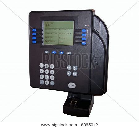 Time Clock with Biometric Id