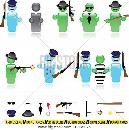 Mafia icons