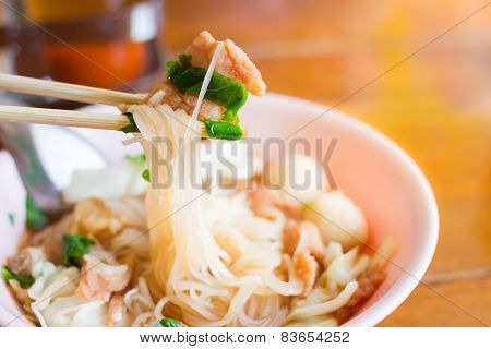 noodle of thai food style
