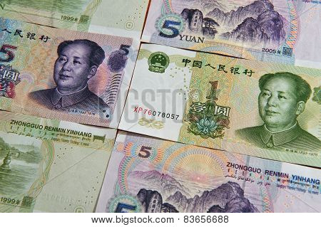 Chinese Money - Yuan Bills