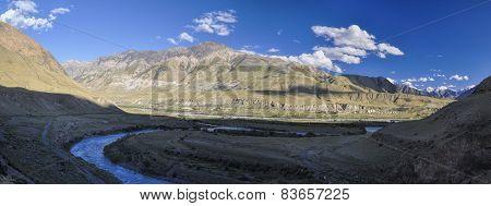 Canyon In Kyrgyzstan